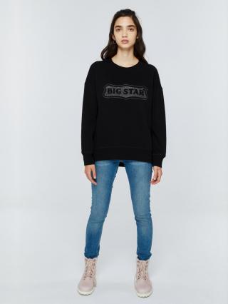 Big Star Womans Sweatshirt 158812 -906 dámské Black L