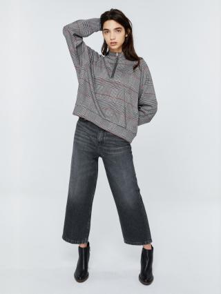 Big Star Womans Sweatshirt 158818 Multicolour-0 dámské wzorzysty M