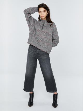 Big Star Womans Sweatshirt 158818 Multicolour-0 dámské wzorzysty S