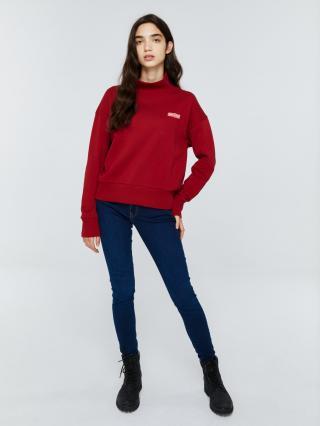 Big Star Womans Sweatshirt 158821 -603 dámské Red L