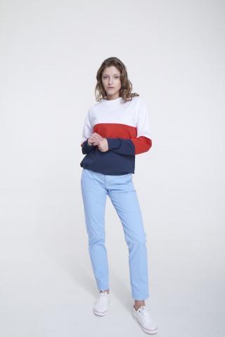 Big Star Womans Sweatshirt 158873 -100 dámské White M
