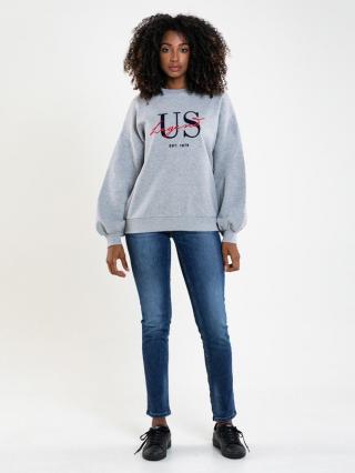 Big Star Womans Sweatshirt 174259 -901 dámské Black L