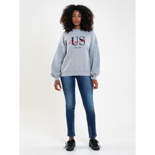 Big Star Womans Sweatshirt 174259 -901 dámské Black M