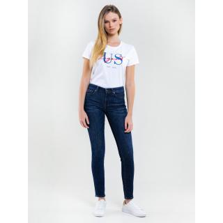 Big Star Womans Trousers 115490 -463 dámské Medium Jeans W26/L30
