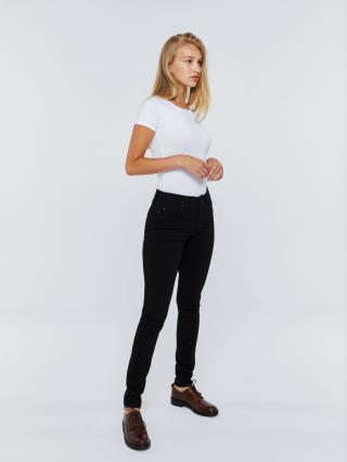 Big Star Womans Trousers 115490 -910 dámské Black W26/L30