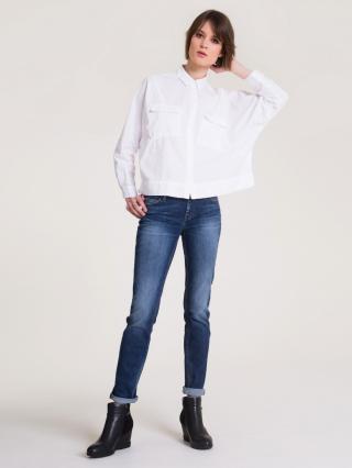 Big Star Womans Trousers 115514 -507 dámské Dark Jeans W33/L30