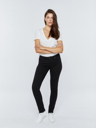 Big Star Womans Trousers 115514 -910 dámské Black W27 L30