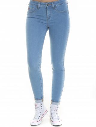 Big Star Womans Trousers 115531 Light Jeans-147 dámské Blue W25