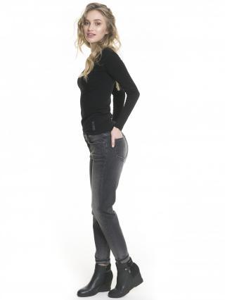 Big Star Womans Trousers 115541 -921 dámské Black W25