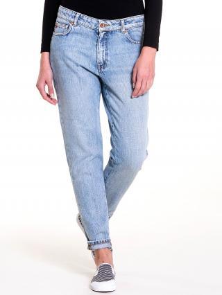 Big Star Womans Trousers 115541 Light Jeans-194 dámské Blue W31