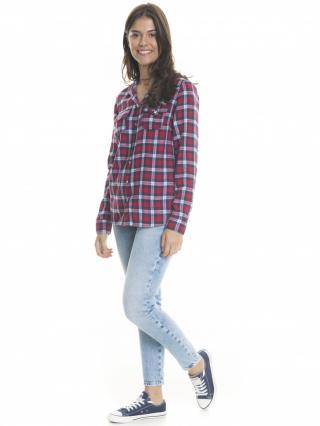 Big Star Womans Trousers 115541 Light Jeans-238 dámské Blue W28
