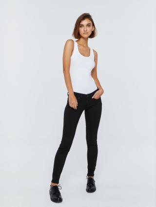 Big Star Womans Trousers 115555 -910 dámské Black W24/L30