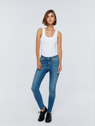 Big Star Womans Trousers 115573 -352 dámské Medium Jeans W25 L32