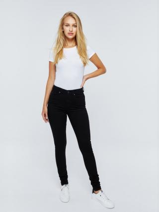 Big Star Womans Trousers 115573 -910 dámské Black W24/L30