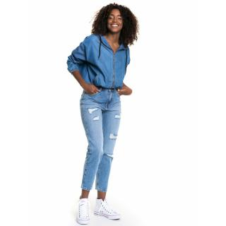 Big Star Womans Trousers 115580 -346 dámské Medium Jeans W29