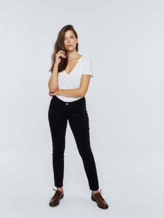 Big Star Womans Trousers 115600 -900 dámské Black W28 L30