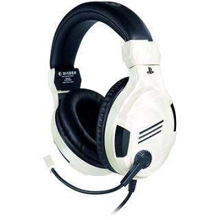 BigBen PS4 Stereo-Headset v3 - bílý