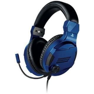BigBen PS4 Stereo-Headset v3 - modrý