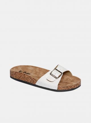 Bílé dámské pantofle Lee Cooper dámské bílá 38