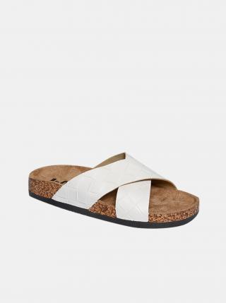 Bílé dámské pantofle Lee Cooper dámské bílá 39