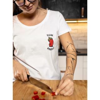 Bílé dámské tričko ZOOT Original Chilli paprička dámské bílá XS