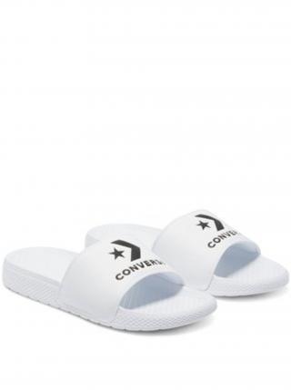 Bílé pantofle Converse All Star Slide pánské bílá 37 1/2