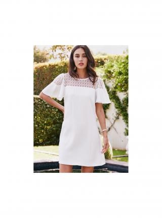Bílé šaty Paper Dolls dámské bílá L