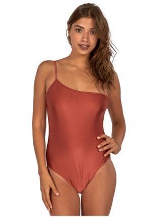 Billabong LOVE BOUND ONE PIECE SIENNA jednodílné plavky - červená dámské S