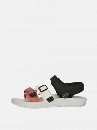 Bílo-černé sandály VERO MODA Soft dámské černá 36