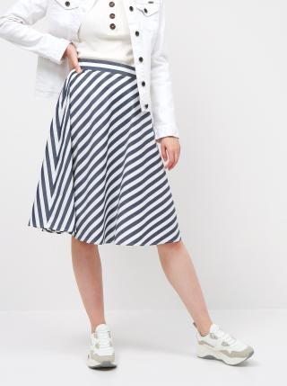 Bílo-modrá pruhovaná sukně ZOOT Simona dámské S