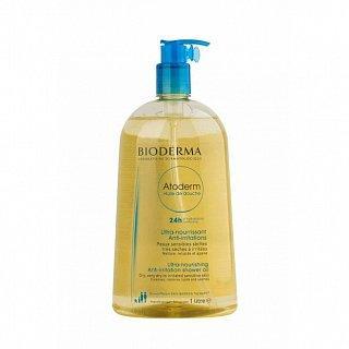 Bioderma Atoderm Huile de Douche čistící pěnivý olej pro suchou atopickou pokožku 1000 ml