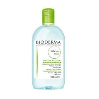 Bioderma Čisticí pleťová voda pro mastnou pleť Sébium H2O  250 ml dámské