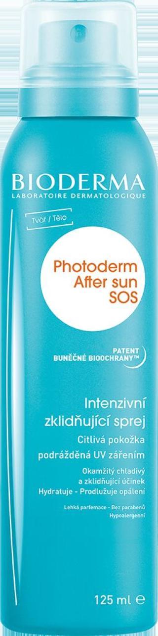 BIODERMA Photoderm Afer Sun SOS 125 ml modrá