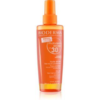 Bioderma Photoderm Bronz Olej ochranný suchý olej ve spreji SPF 30 200 ml dámské 200 ml