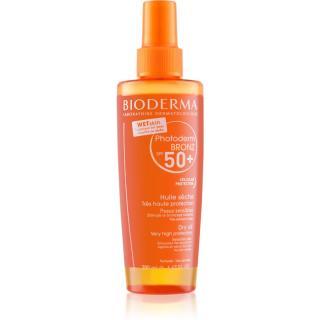 Bioderma Photoderm Bronz Olej ochranný suchý olej ve spreji SPF 50  200 ml dámské 200 ml