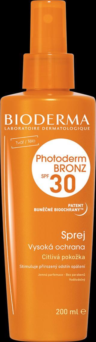 BIODERMA Photoderm bronz, opalovací krém spf30 oranžová