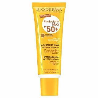 Bioderma Photoderm MAX Aquafluid Golden Colour SPF 50  krém na opalování pro sjednocení barevného tónu pleti 40 ml