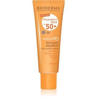 Bioderma Photoderm Max Aquafluid tónovací opalovací fluid SPF 50  odstín Golden Colour 40 ml dámské 40 ml
