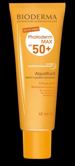 BIODERMA Photoderm max opalovací krém aquafluid spf50  40 ml oranžová