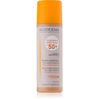 Bioderma Photoderm Nude Touch ochranný tónovaný fluid pro smíšenou až mastnou pleť SPF 50  odstín Golden 40 ml dámské 40 ml