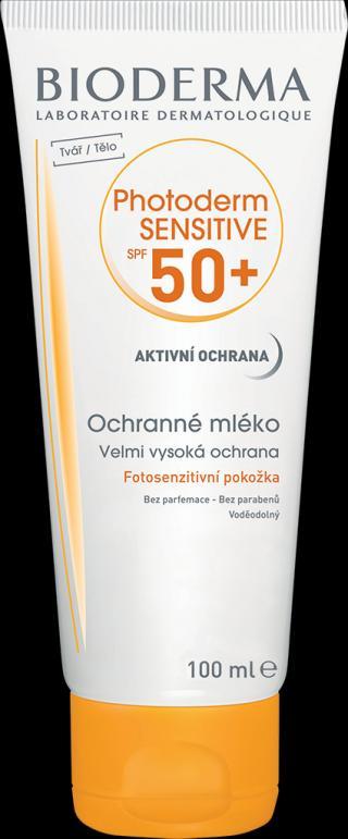 BIODERMA Photoderm sensitive opalovací krém spf50  100 ml oranžová