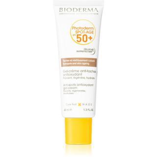 Bioderma Photoderm Spot-Age opalovací gel-krém na obličej proti pigmentovým skvrnám 40 ml dámské 40 ml