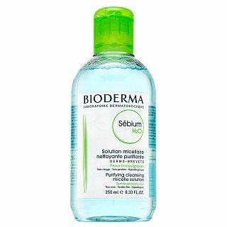 Bioderma Sébium H2O Purifying Cleansing Micelle Solution micelární roztok pro mastnou pleť 250 ml