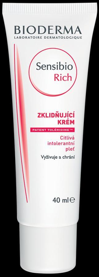 BIODERMA Sensibio riche zklidňující krém 40 ml
