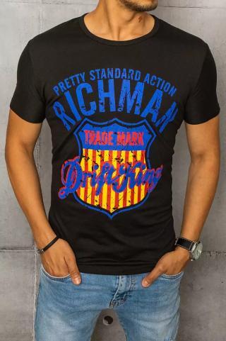 Black Dstreet RX4690 mens T-shirt with print pánské Other XXL