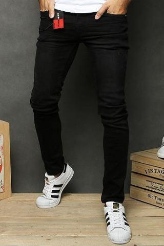 Black mens jeans trousers UX2654 pánské Neurčeno 29