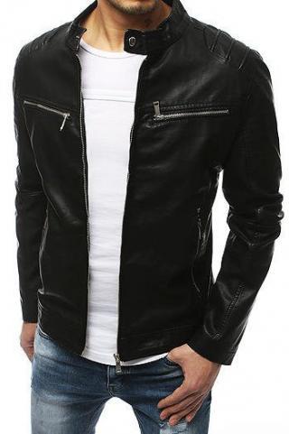 Black mens leather jacket TX3200 pánské Neurčeno XXL
