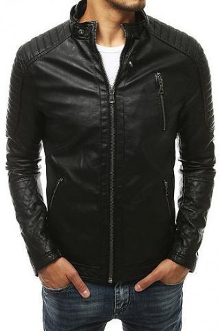 Black mens leather jacket TX3401 pánské Neurčeno XXL