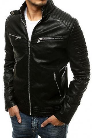 Black mens leather jacket TX3504 pánské Neurčeno XXL