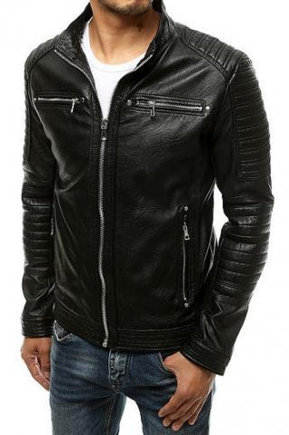 Black mens leather jacket TX3505 pánské Neurčeno L